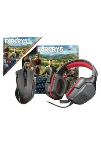 PC Game Trust Gaming Bundle - Headset, Maus und Mauspad inklusive Far Cry 5 Voucher