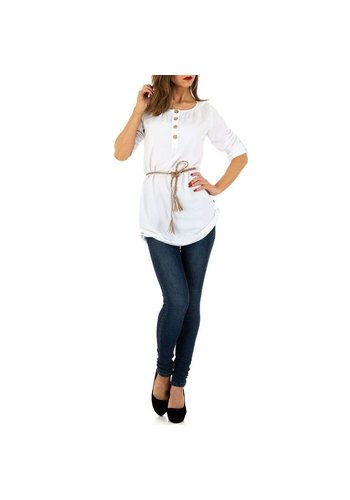 D5 Avenue Damen Tunika von Milas - white