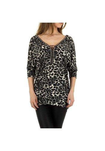 D5 Avenue Damen Shirt von Enzoria Gr. One Size - grau