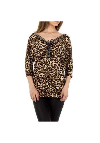 D5 Avenue Damen Shirt von Enzoria Gr. One Size - apricot