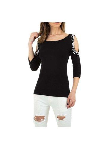 D5 Avenue Damen Shirt von MC Lorene Gr. One Size - schwarz