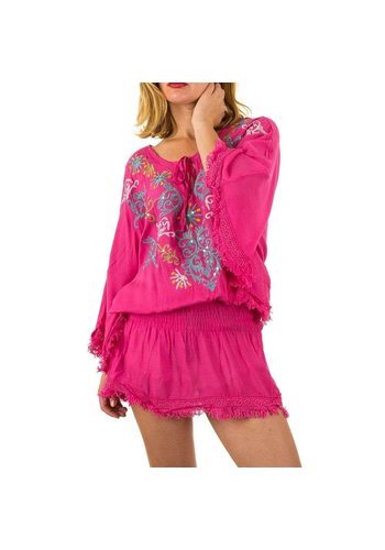 D5 Avenue Damen Tunika Gr. one size - rose
