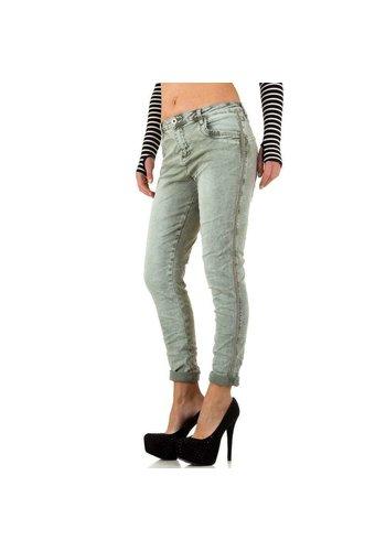 MOZZAAR Damen Jeans von Mozzaar - L.green