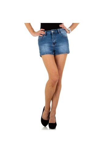 D5 Avenue Damen Shorts von By Sasha - blau