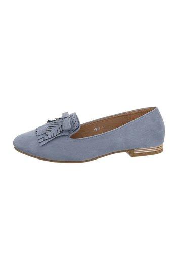 D5 Avenue Damen Ballerinas - blau