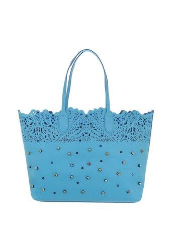 D5 Avenue Damen Shopper - blau