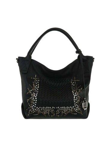 D5 Avenue Damen Shopper-schwarz