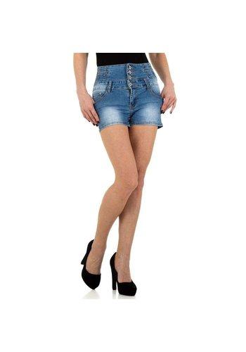 D5 Avenue Damen Shorts von BySasha - blau