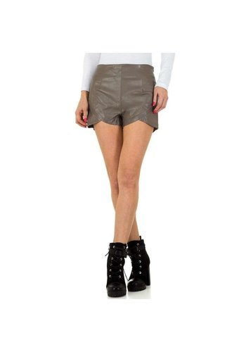 JCL Damen Shorts von JCL - grau