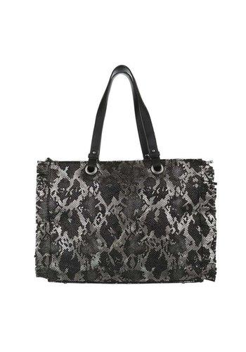 D5 Avenue Damen Shopper- schwarz