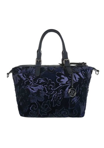 D5 Avenue Damen Shopper-blau