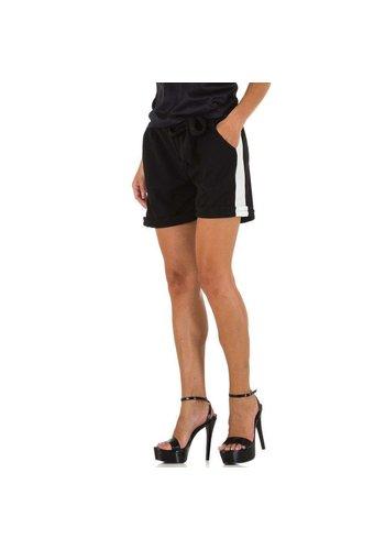 HOLALA Damen Shorts von Holala - schwarz und weiß