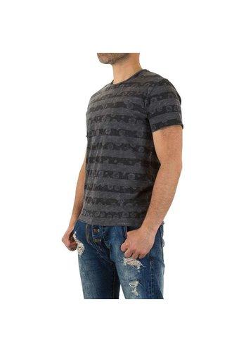 D5 Avenue Herren Shirt von Y.Two Jeans - grau