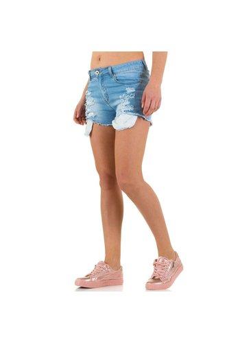 D5 Avenue Damen Shorts von Marilyn&John - blau