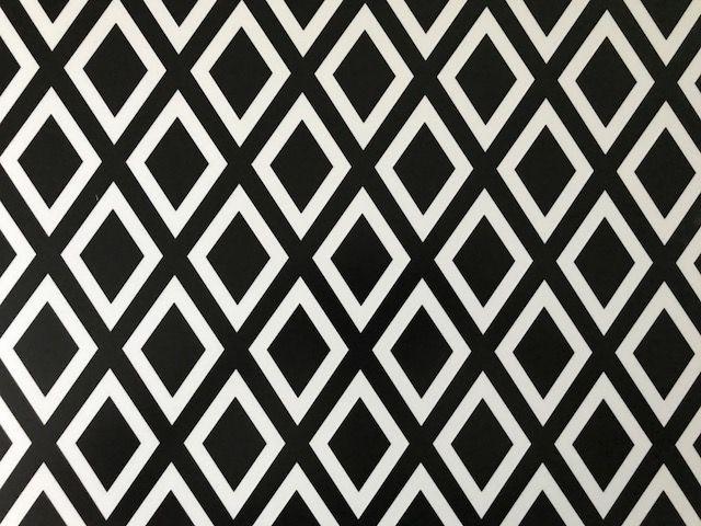 Bureau onderlegger Zwart-Wit scandinavisch patroon