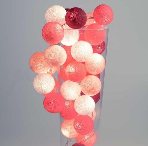 Lichtslinger Knal Roze Dots, voor Pink Lady's!
