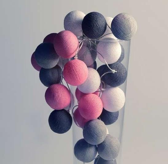 Lichtslinger LIEF, roze, wit en grijs