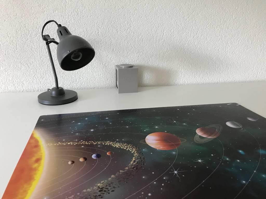 Bureaulegger SPACE, met sterren en palneten de ruimte in