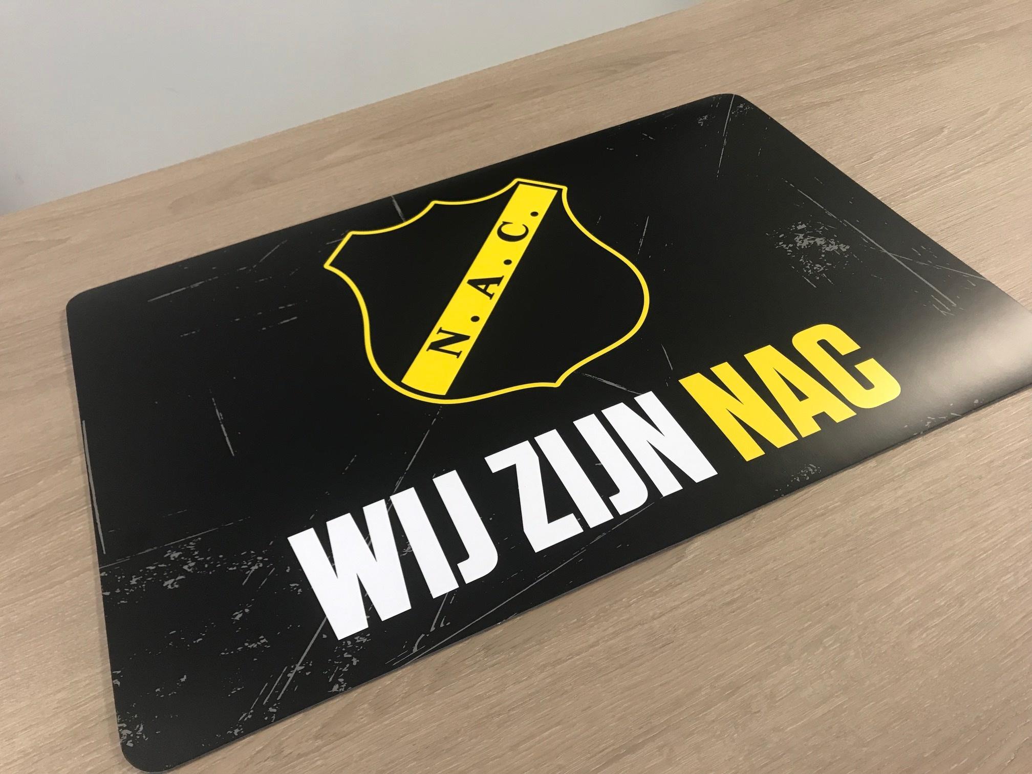 Bureaulegger Wij zijn NAC met logo