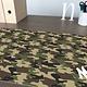 Een gepersonaliseerde bureaulegger Camouflage met naam