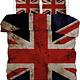 Een dekbedovertrek met de UK vlag