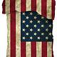Een dekbedovertrek met de USA vlag