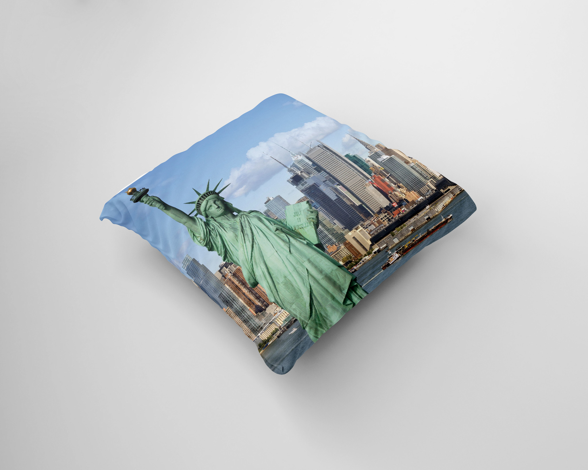 Kussen met New York skyline