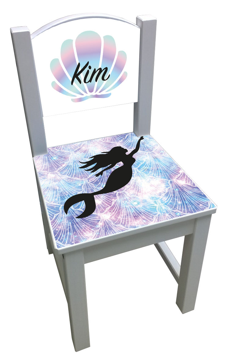 Kinderstoel met Mermaid thema