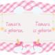 Geboorte raambord Tamara