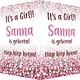 Geboorte raambord Sanna