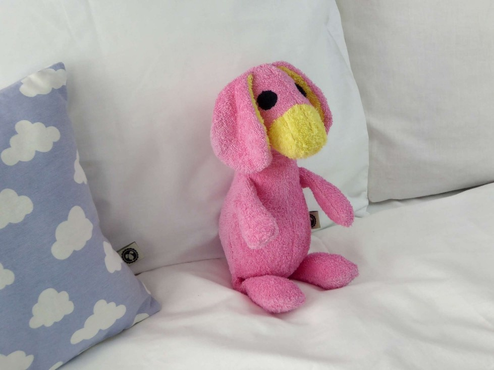 De Kroelioos Motje Pinkie, de kleine roze Kroelio