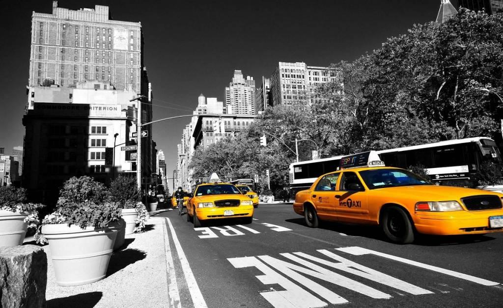Bureau onderlegger Yellow Cap New York United States of America