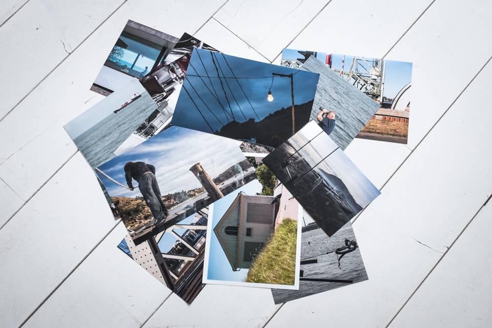 Bureau onderlegger met eigen foto of logo