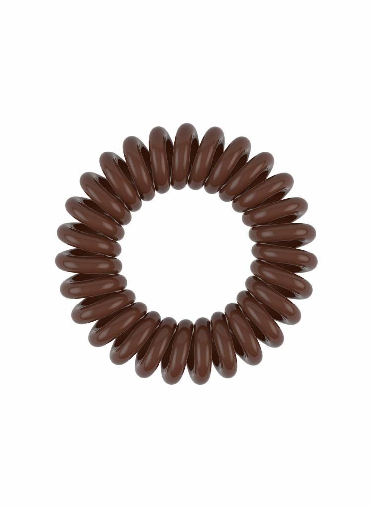 invisibobble® POWER Pretzel Brown 6-Box