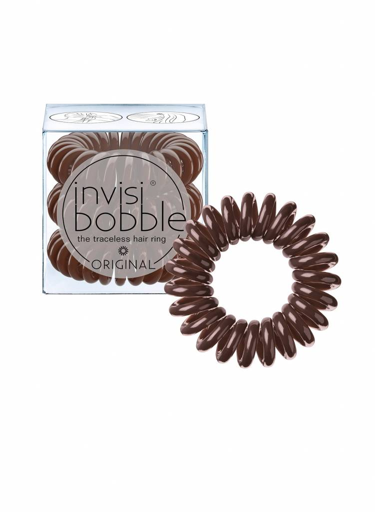invisibobble® ORIGINAL Pretzel Brown 6-Box