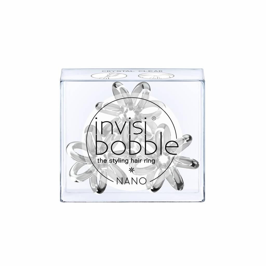 invisibobble® NANO Crystal Clear 6-Box