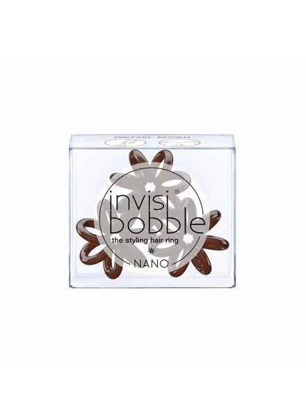 invisibobble® NANO Pretzel Brown 6-Box