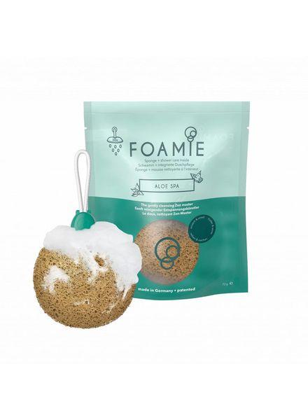 FOAMIE Shower Sponge Aloe Spa (Pack of 4)