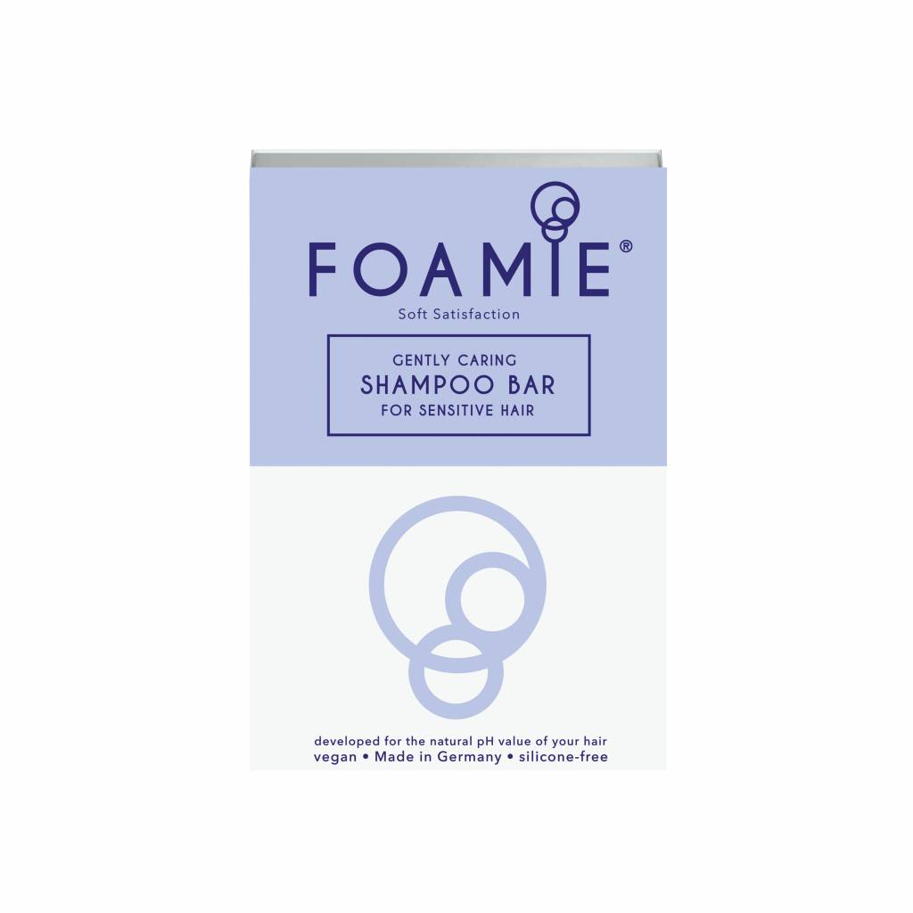 FOAMIE Shampoo Bar Soft Satisfaction (Pack of 6)