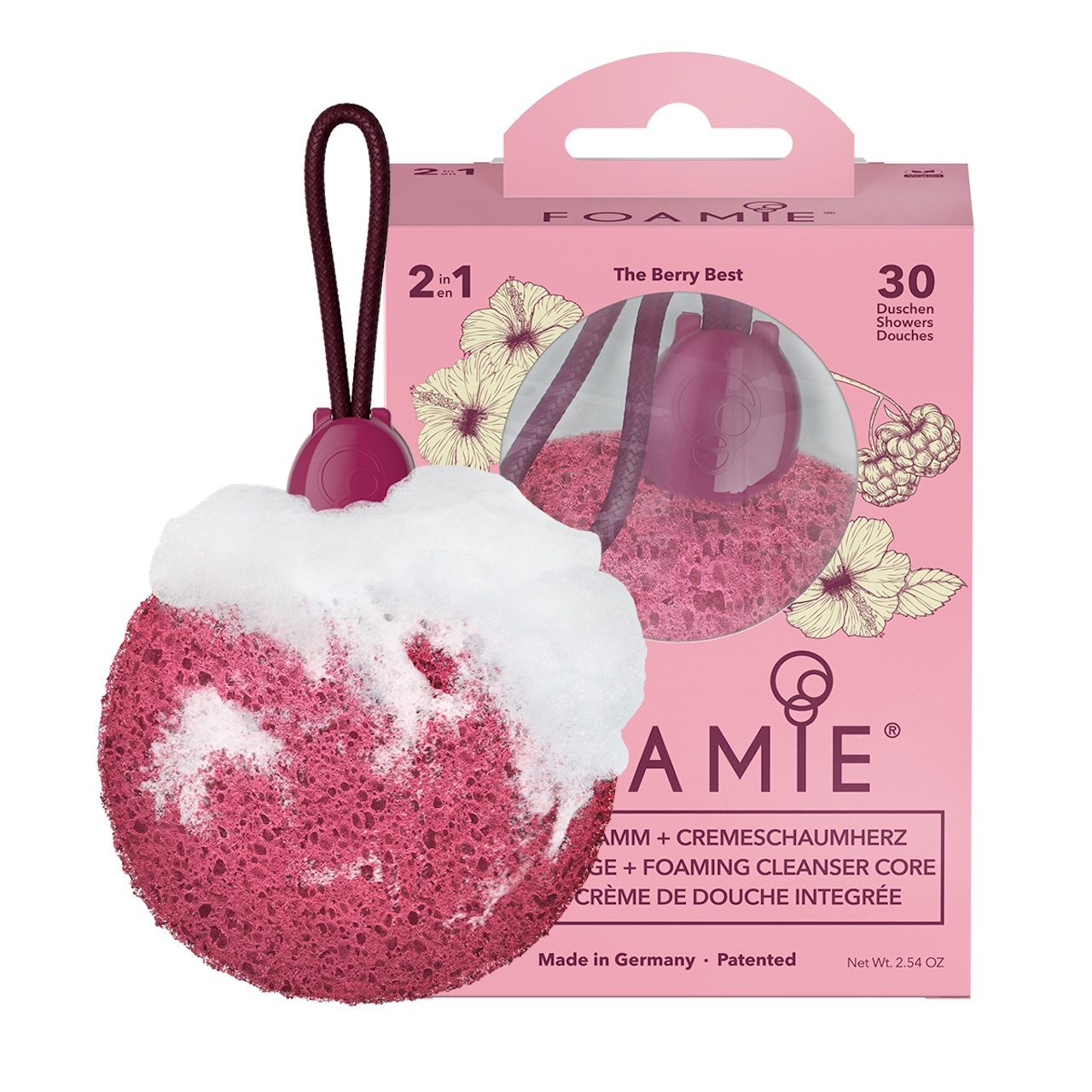 FOAMIE Sponge The Berry Best (Pack of 4)