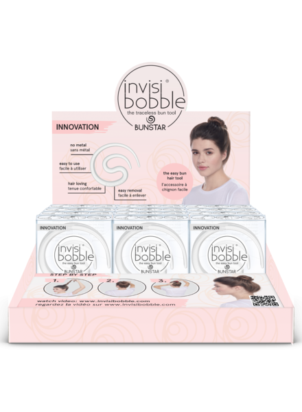 invisibobble® BUNSTAR 12-display