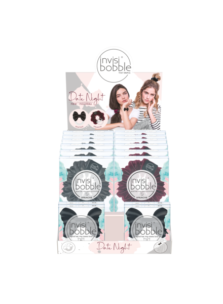 invisibobble® SPRUNCHIE Date Night 16 Display