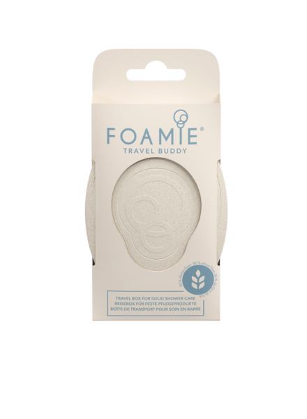 FOAMIE Travel Buddy - Travel Box for solid shower care (Pack of 6)