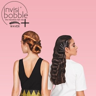 invisibobble® WAVER PLUS Crystal Clear (Pack of 6)