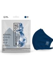 NEQI Navy Kids Re-useable Face Mask (12 Case)