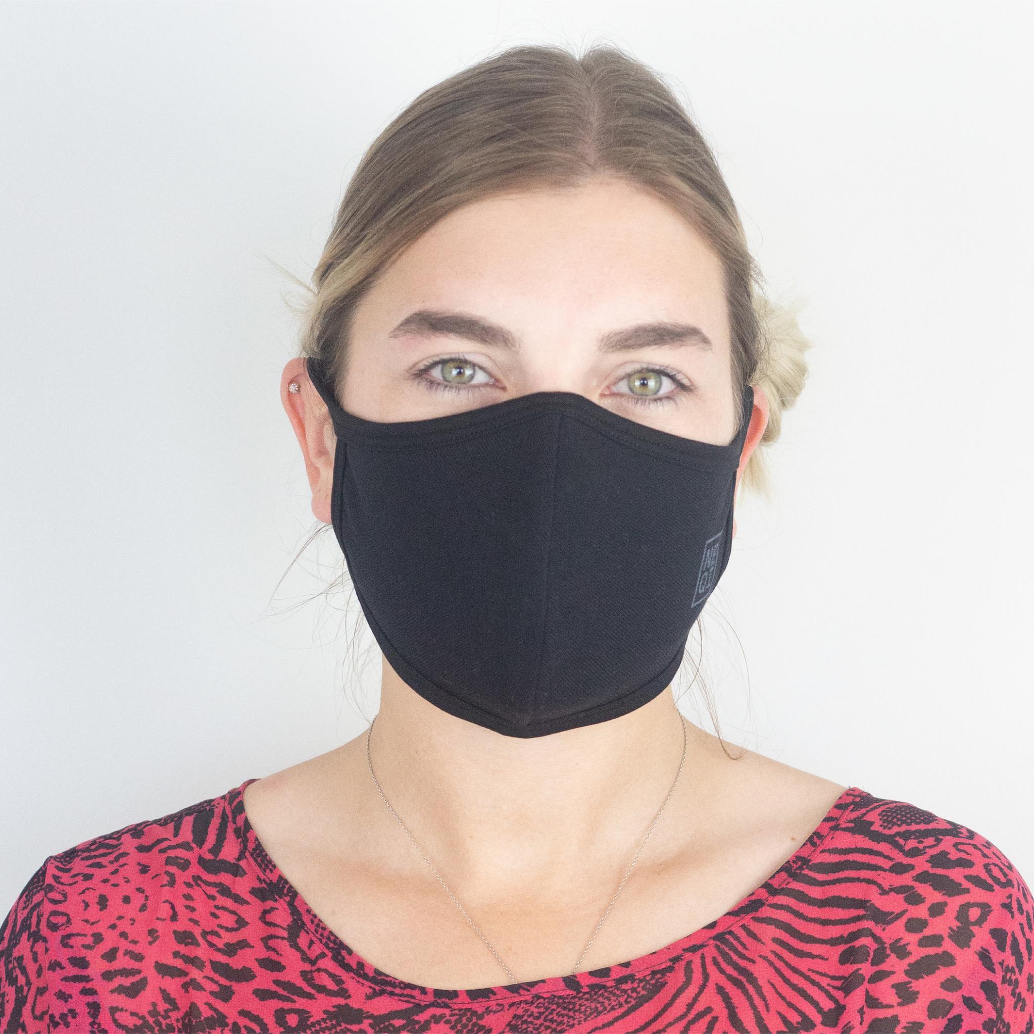 NEQI Black Small/Medium Re-useable Face Mask (12 Case)