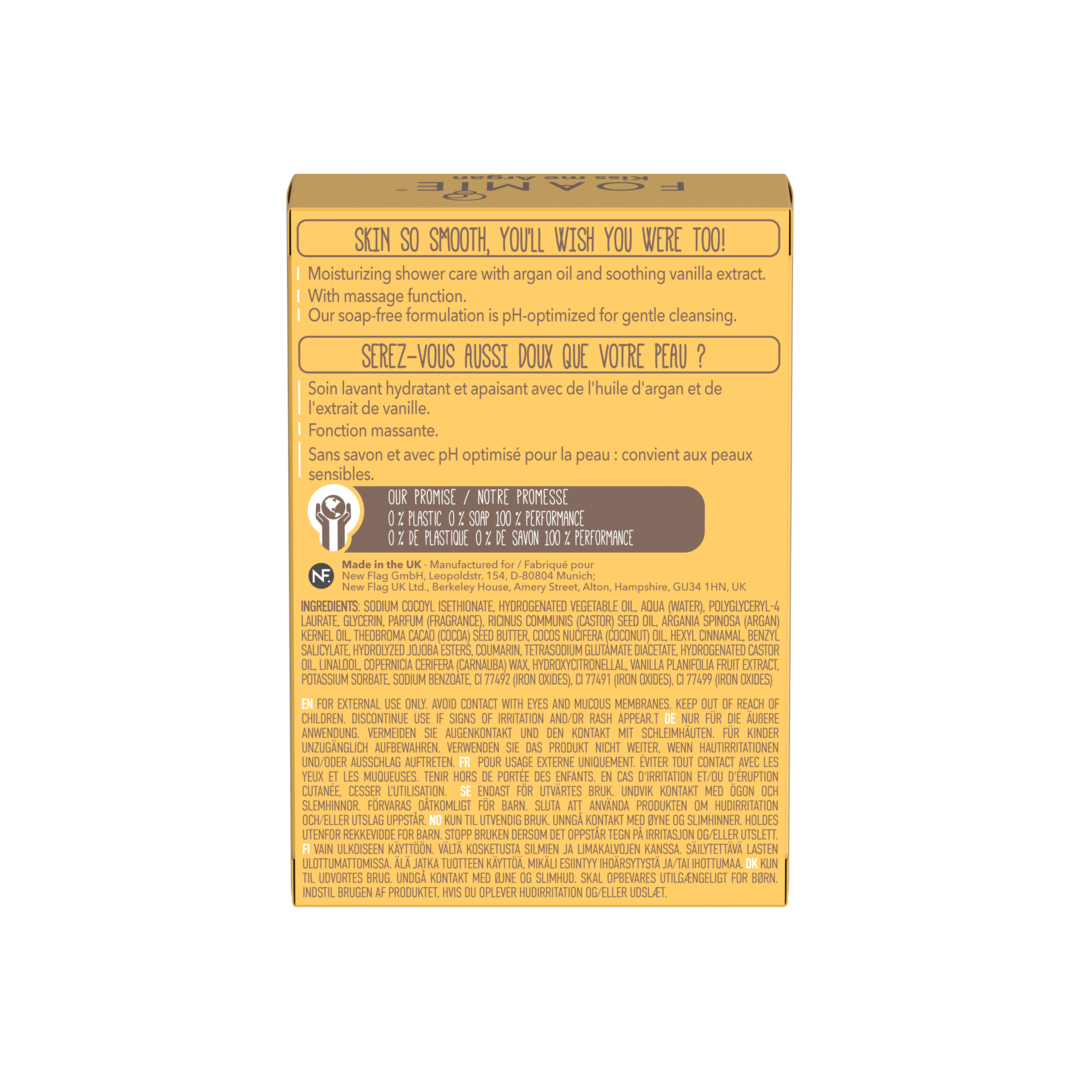 ARGAN OIL AND VANILLA BODY BAR (6-Pack)