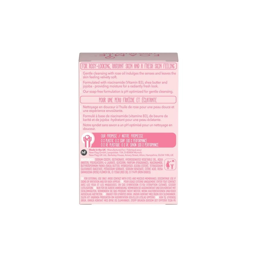 FOAMIE FACE BAR - ROSE OIL FACE BAR WITH NIACINAMIDE (6-Pack)
