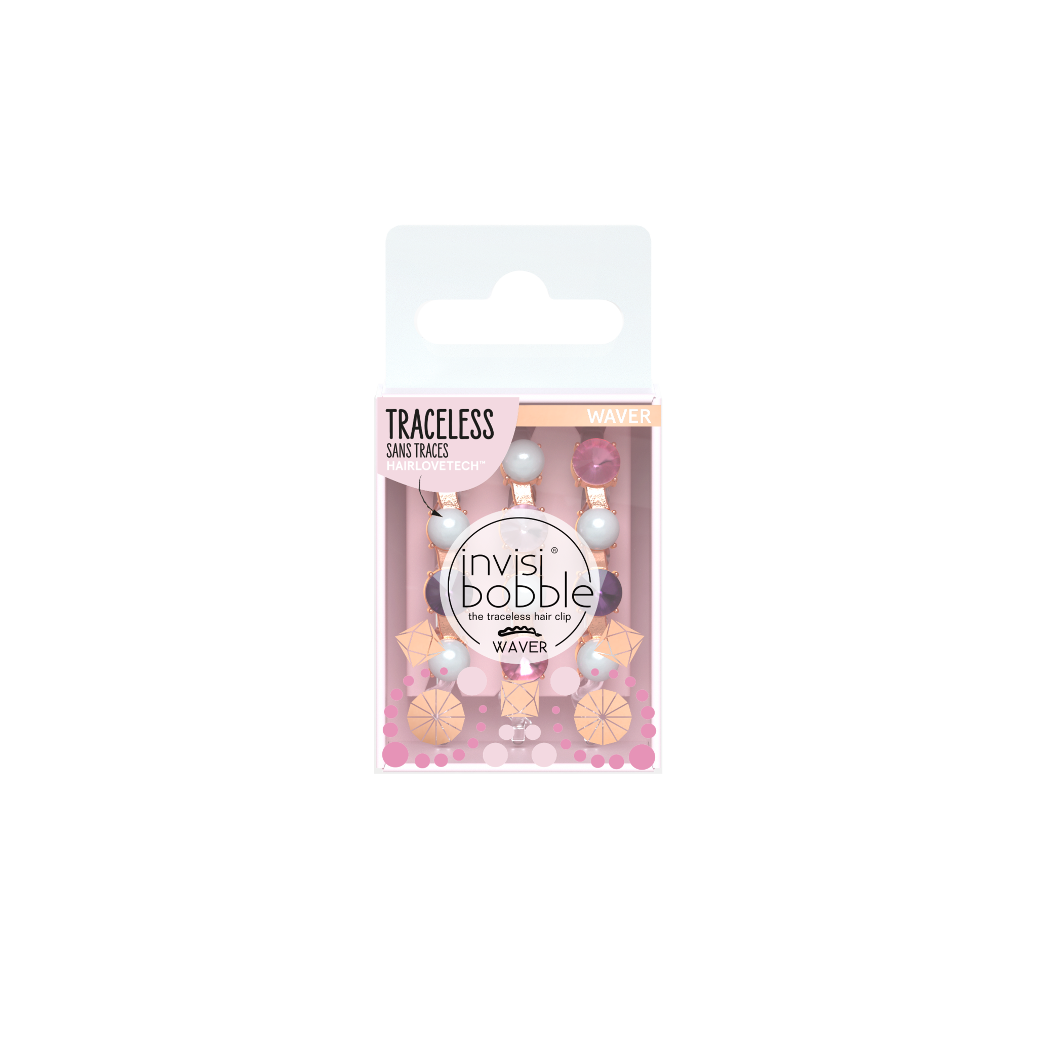 invisibobble®  WAVER – British Royal, To Bead or not to Bead (6pack)