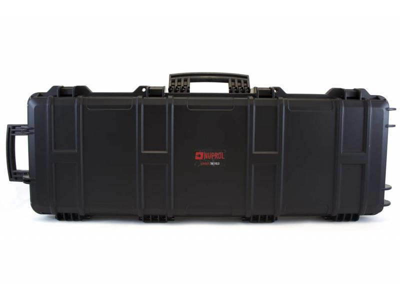 Nuprol Large Hard Case Black(Wave Foam)